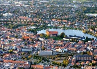 Luftfoto Kolding