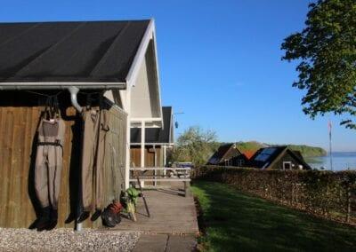 Wo man sich als Angler zu Hause fühlt: unsere Campinghütten