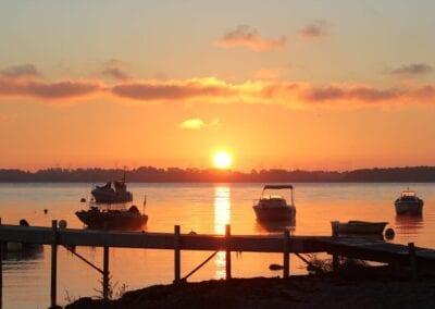 Morgenstimmung auf dem Weg zum Bootsangeln – so muss ein Tag anfangen!