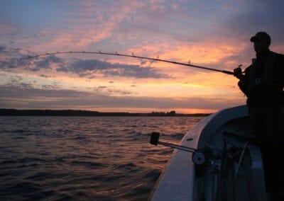 Angeln in Dänemark mit Boot ist Entspannung pur!
