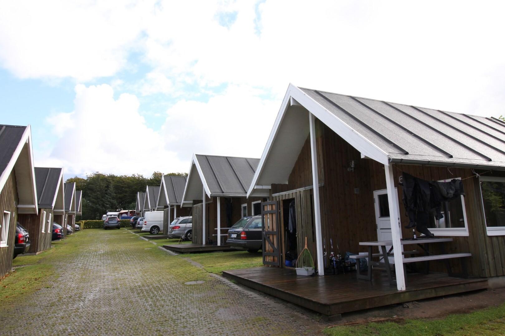 Campingplatz in Dänemark mit Anglerhütten