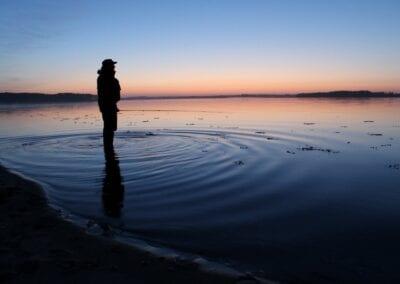 Angeln vor Stenderup Hage: ein Meerforellen-Hotspot nur ein paar Minuten zu Fuß vom Campingplatz