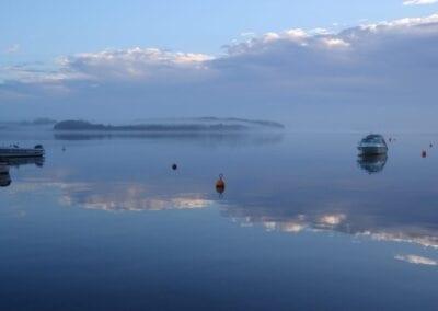 Mystische Insel im Nebel: Fænø